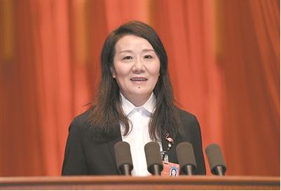 高慧委员:加速纺织产业提档升级